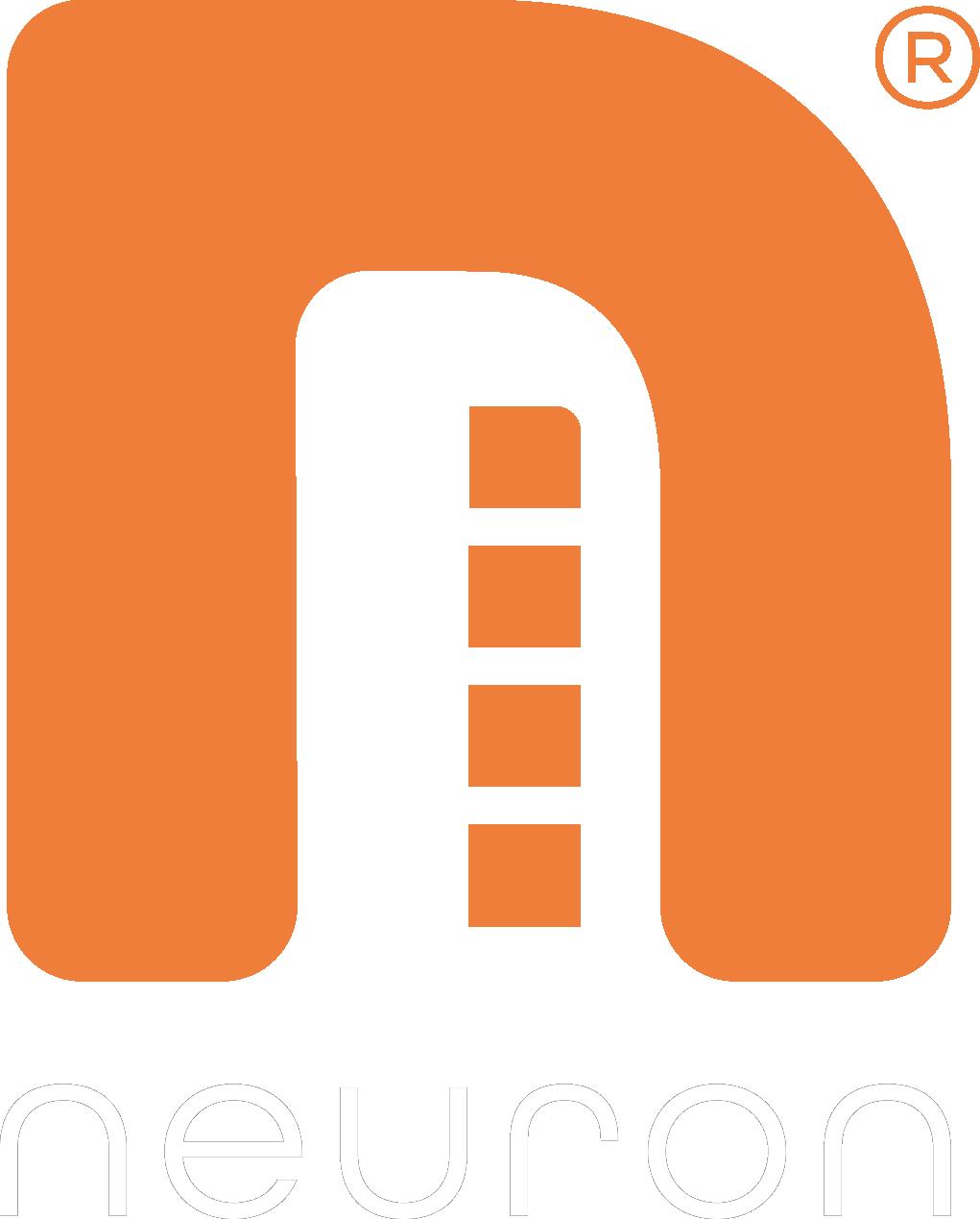 Logo no background orange logo white text